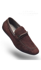 SKU#AC-521 Angelino-Rob-Coffee-Shoes $125