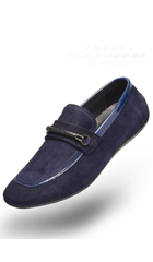 SKU#AC-522 Angelino-Rob-Navy-Shoes $125