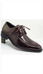 SKU#AC-788 Two Tones Shoes Brown,Black,Grey $45