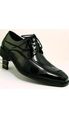 SKU# AC-789 Two Tones Shoes Black $45