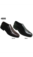 SKU# AC-792 Two Tones Shoes Brown,Black $65