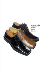 SKU#AC-800 Two Tones Shoes Black/Brown $65