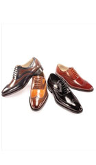 AC-807 Dress Shoes NavyChocolate
