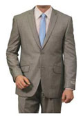 SKU#BC-83 Mens Windowpane Plaid Houndstooth Pattern Texture Wool Blazer Jacket Suit Dark Gray $185