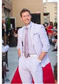 Lavender Seersucker Suits &