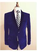 SKU#45S3 Men's Velvet ~ Velour Fabric Dinner Jacket Tuxedo Black Lapeled
