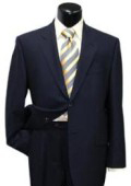 SKU AB404 High Quality Mens Dark Navy Blue 2 Button Super Wool Suit 139