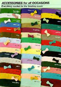 Bow Ties & Cummerbunds Silk Satin in 20 Colors $19