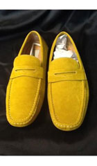 SKU#DB100 Mens Yellow ~ Gold Stage Party Classic Oxford Loafer Slip On Mens Shoe Slip On Shoes $99