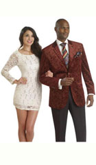 Floral Mens Satin Shiny Tuxedo Dinner Jacket Blazer Velvet ~ Velour Paisley Sport Coat And Sequin Shiny Flashy Silky Satin Stage Fancy Stage Party Dance Jacket Burgundy