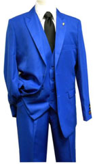 Mens Falcone 3 Piece Fashion Suit