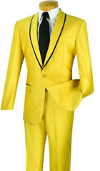 Mens yellow ~ Gold suit $199