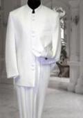 Off White ~ Cream ~ Ivory Mandarin Suit $139