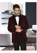 High Quality Burgundy ~ Maroon ~ Wine Color Double Breasted Blazer with Peak Lapels $139