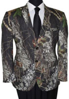 Men's Tazio Bark and Leaf Pattern Slim Fit Sport Coat Green $139