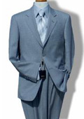 R&H 2 Button Side Vents Jacket With Flat Front Pants Super 150 Wool Suit Seperate $189