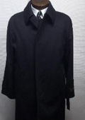 Ryan121 38†Three Button Single Breasted Coat With A Center-Vent, Fly Front $199