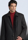 Mens Cashmere Double Breasted