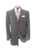 Super 150 Wool Light Gray Mens premier quality italian fabric Dress Suit