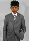 Gray Boy's Dress Suit
