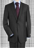 construction Two-Button Darkest Charcoal Gray Super 150 fine Wool $160