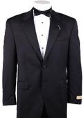 SKU#MM341 Mens 1/2 Buttons Black Tuxedo Blazer / Jacket / Dinner Jacket Only No Pant Price $65