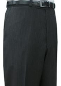Cotton Summer Light Weight Black Pinstripe CK Flat front pant $99