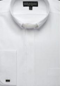SKU#BJ123 Men's Clergy Collar Shirt