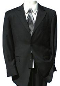 2 Button Peak Lapel Suit Comes in Black / Navy / Charcoal Gray / Light Gray $169