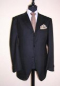 SKU 120GTL Darkest Navy Blue 3 Buttons Super 120s Wool 139