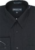 Men's Dress Shirt Black