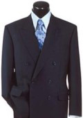 SKU JKPL98 Navy Blue Super Wool Double Breasted 139