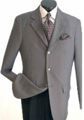 SKU#VM640 Men's Classic Single Breasted Grey Blazer $69