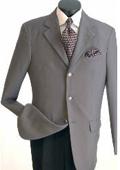 SKU#VM640 Men's Classic Single Breasted Grey Blazer $69