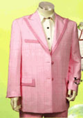 Men's Fashion Pink Suit