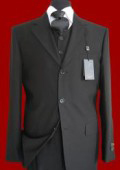 3 Buttons High Vested 3Pc Mens Suits In All Color $149