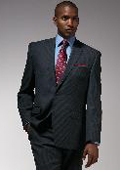 Mens Charcoal Gray Wool