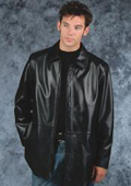 Lightweight fashion car coat Black $239