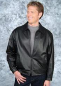 SKU#TC632 City Jacket Black/Brown Trim $239