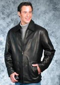 Men's contemporary casual jacket Black $239