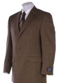 SKU TR76 CoCo Brown Mens Suits Super 150s Wool Mens Suits 195
