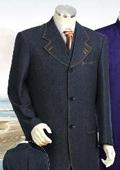 Mens Denim Suit
