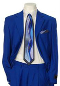 Men's Multi-Stage Party Suit Collection Royal