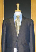 Button Peak Lapel Teal