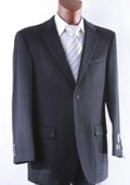 SKU#2BV-J40912C Men's 2 Button Lamb Wool Cashmere Sport Coat Black $185