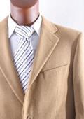 SKU#2BV-J40912C Men's 2 Button Lamb Wool Cashmere Sport Coat Camel $299