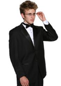 Men's 2 Button Super 140s Merino Wool Tuxedo Jacket + any size pants (tuxedo separate) $199