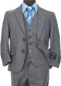 Boys 3 piece 2 Buttoned Suit