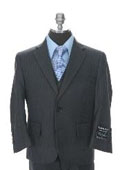2 Buttoned Suit Grey
