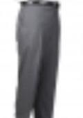 Black/White Bond Flat Front Trouser $69